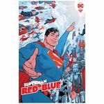 SUPERMAN RED & BLUE #6 (OF 6) CVR A EVAN DOC SHANER