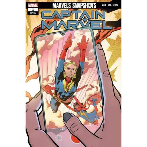 CAPTAIN MARVEL MARVELS SNAPSHOTS #1 ROE VAR