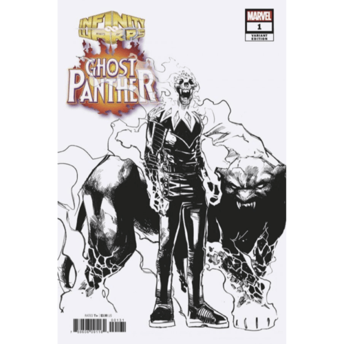 Infinity Warps: Ghost Panther #1 Ramos Design Variant