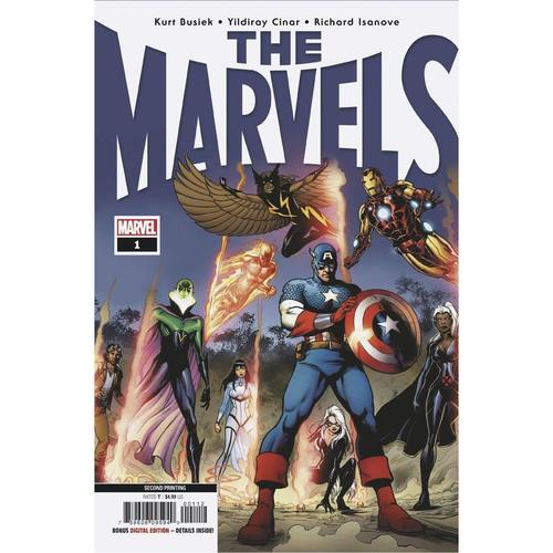 THE MARVELS #1 2ND PTG CINAR VAR