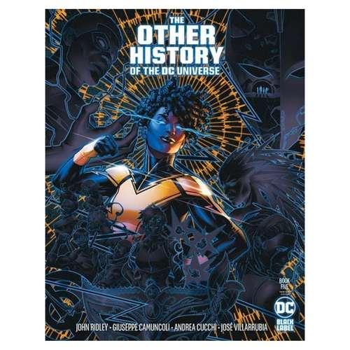 OTHER HISTORY OF THE DC UNIVERSE #5 (OF 5) CVR B JAMAL CAMPBELL VAR (MR)