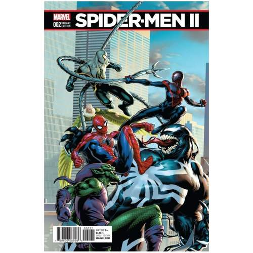 SPIDER-MEN II #2 CONNECTING VARIANT