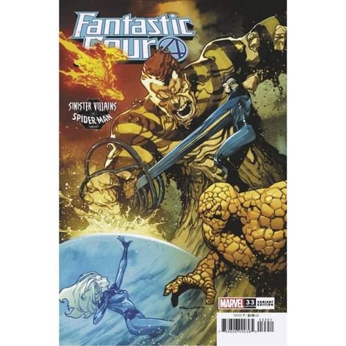 FANTASTIC FOUR #33 RUAN SPIDER-MAN VILLAINS VAR