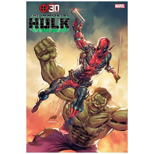 IMMORTAL HULK #45 LIEFELD DEADPOOL 30TH VAR