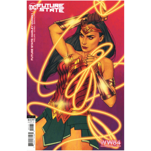 FUTURE STATE HARLEY QUINN #1 (OF 2) CVR C WONDER WOMAN 1984 JENNY FRISON CARD STOCK VAR