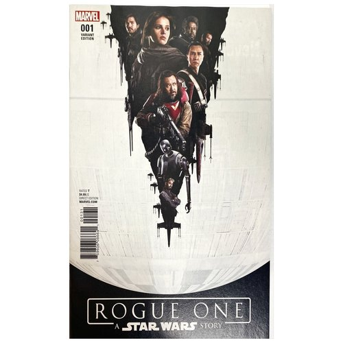 STAR WARS ROGUE ONE #1 MOVIE POSTER VARIANT