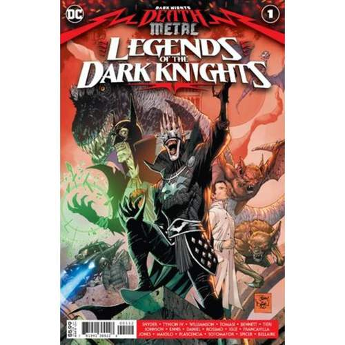 DARK NIGHTS DEATH METAL LEGENDS OT DARK KNIGHTS #1 Second printing