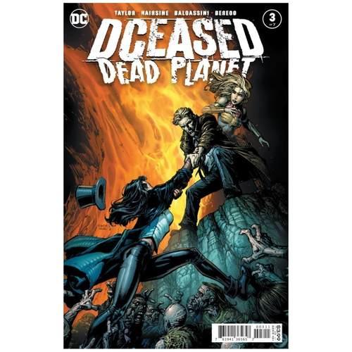 DCEASED DEAD PLANET #3 (OF 7) CVR A DAVID FINCH