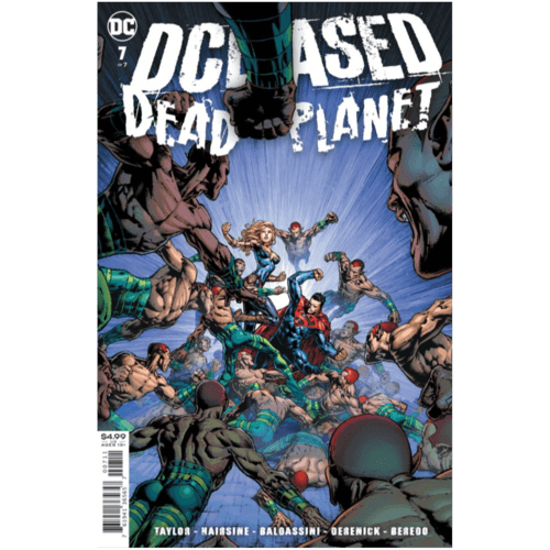 DCEASED DEAD PLANET #7 (OF 7) CVR A DAVID FINCH
