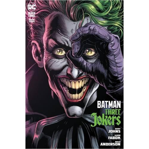 BATMAN THREE JOKERS #3 (OF 3) CVR A JASON FABOK JOKER (MR)