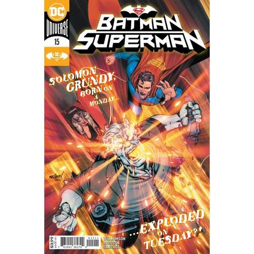 BATMAN SUPERMAN #15 CVR A DAVID MARQUEZ