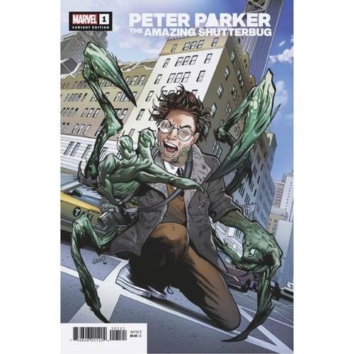 HEROES REBORN PETER PARKER AMAZING SHUTTERBUG #1 LAND VAR