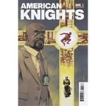 HEROES REBORN AMERICAN KNIGHTS #1 SHALVEY VAR