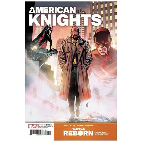 HEROES REBORN AMERICAN KNIGHTS #1