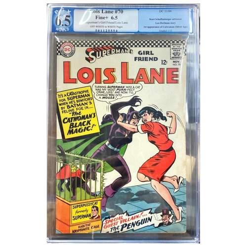 LOIS LANE #70 PGX 6.5 1ST APP SILVER AGE CATWOMAN