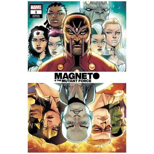 HEROES REBORN MAGNETO AND MUTANT FORCE #1 CHANG SPOILER VAR