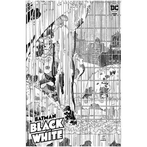 BATMAN BLACK AND WHITE #6 (OF 6) CVR A JOHN ROMITA JR & KLAUS JANSON