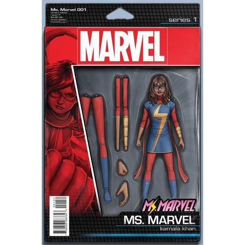 MS MARVEL #1 ACTION FIGURE VARIANT (2015)