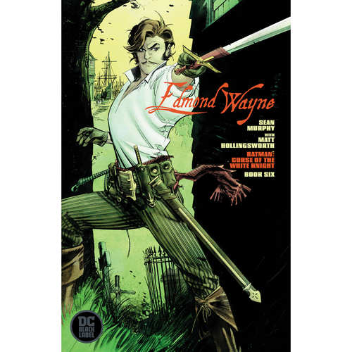 BATMAN CURSE OF THE WHITE KNIGHT 6 OF 8 CARD STOCK VAR ED