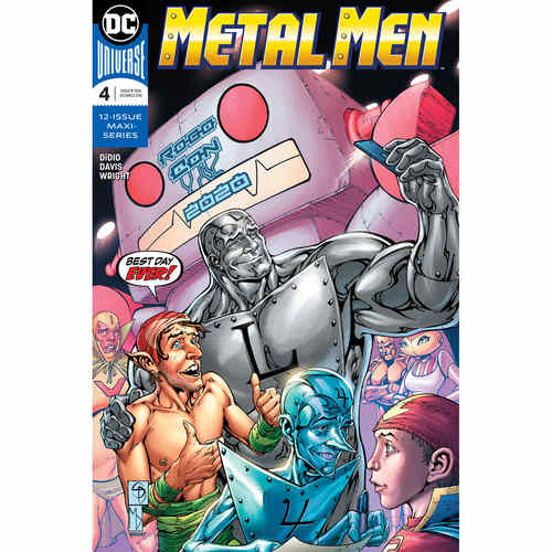 METAL MEN 4 OF 12