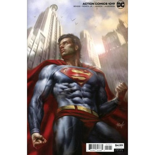 ACTION COMICS 1019 CARD STOCK VAR ED