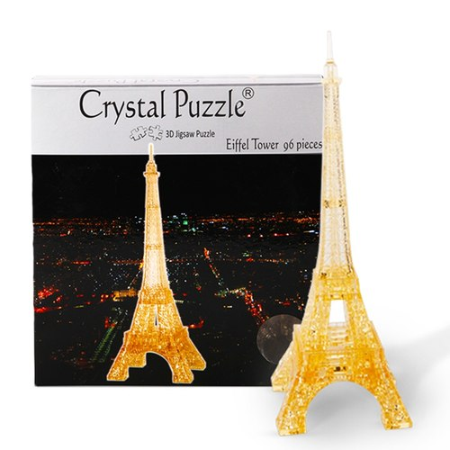 3D Crystal Puzzle Eiffel Tower