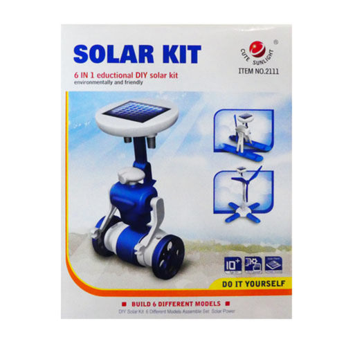 Play N Learn STEM 6 in 1 Educational DIY Solar Kit