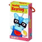 Play N Learn Art & Craft Raccoon Sewing Keyring