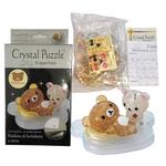 3D Crystal Puzzle Rilakkuma & Korilakkuma