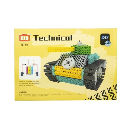 Play N Learn DIY Battery Operated Technical Tank