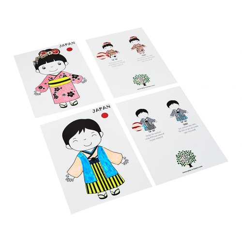 Craft Picture Card Japan Couple
