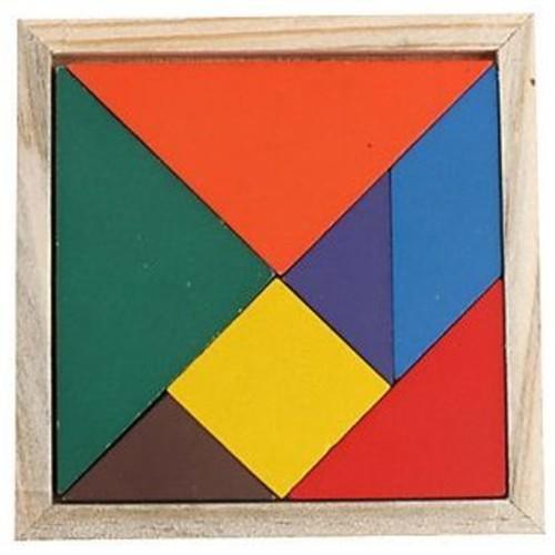 Play N Learn Wooden Tangram
