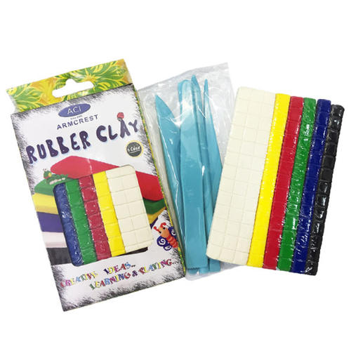 Play N Learn ECO Rubber Clay