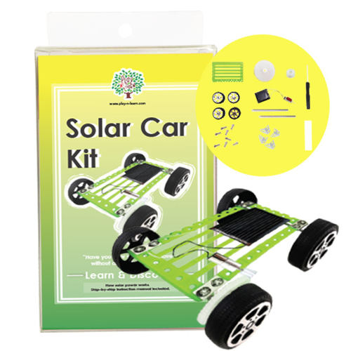Play N Learn Science Solar Car Kit