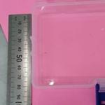 Plastic PVC Hard Box with Clip