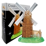 3D Crystal Puzzle Windmill