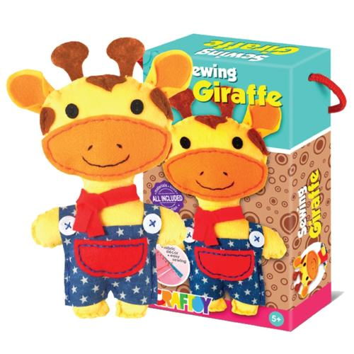 Play N Learn Art & Craft Giraffe Sewing Kit