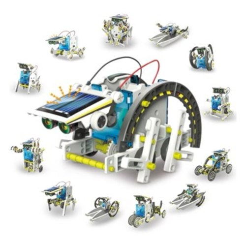 Play N Learn STEM 13 in 1 Kit Educational Solar Robot Kit
