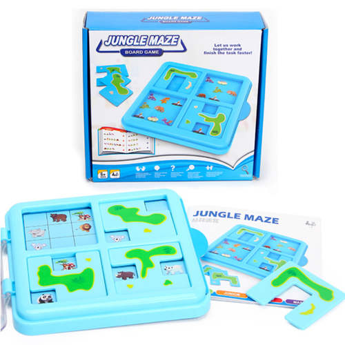 Play N Learn Mathematics Jungle Maze Board Game