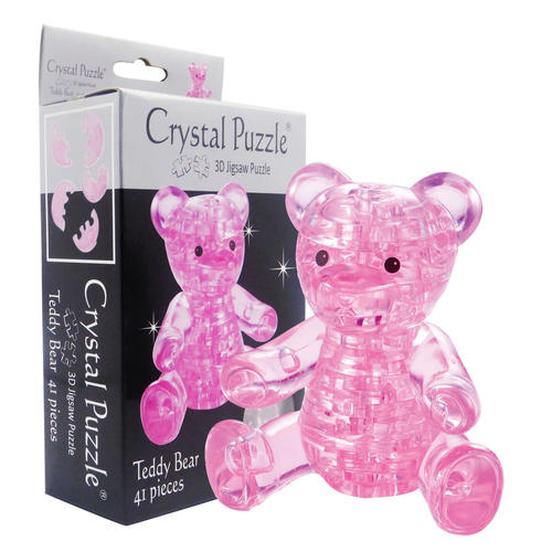 Pink Bear 3D Crystal Puzzle