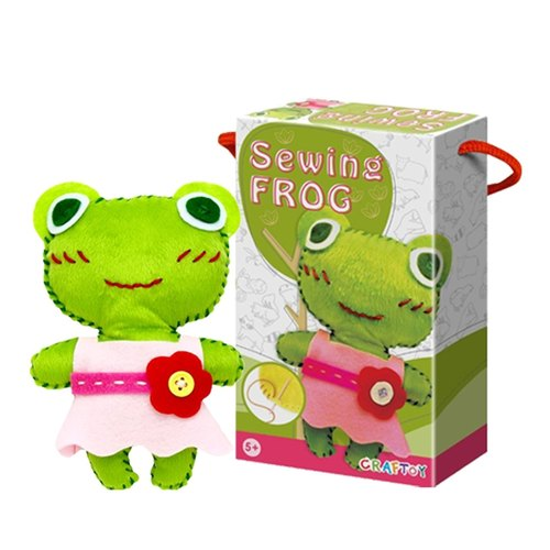 Play N Learn Art & Craft Frog Sewing Kit