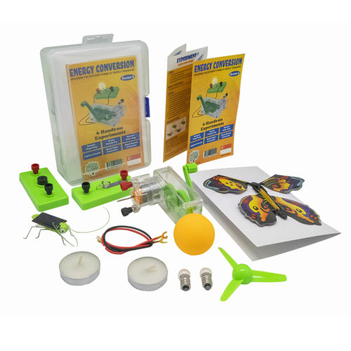 Play N Learn STEM 6 Experiments on Energy Conversion Kit