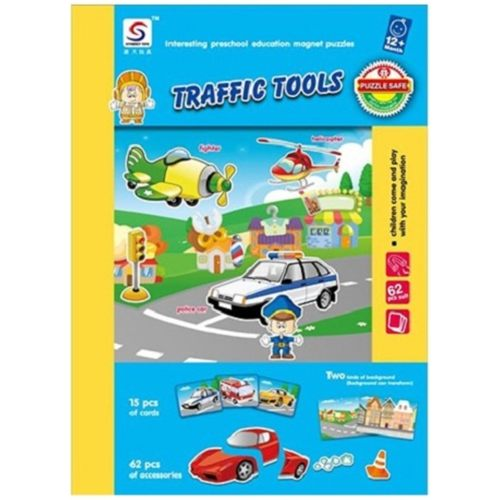 Magnetic Book - Traffic Tool
