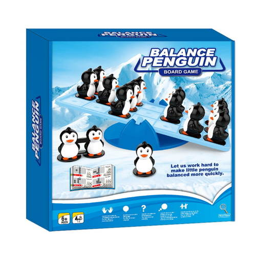 Play N Learn Balance Penguin Board Game