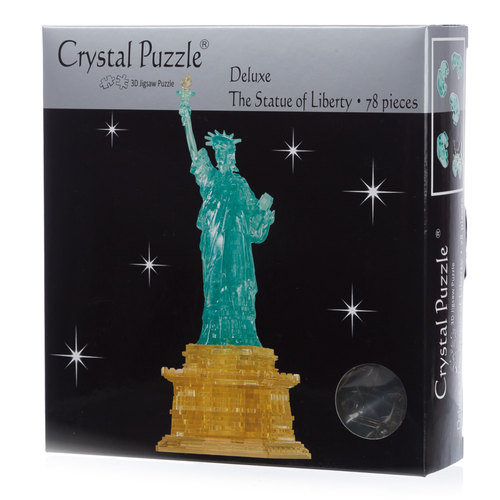 The Statue Of Liberty Deluxe 3D Crystal Puzzle