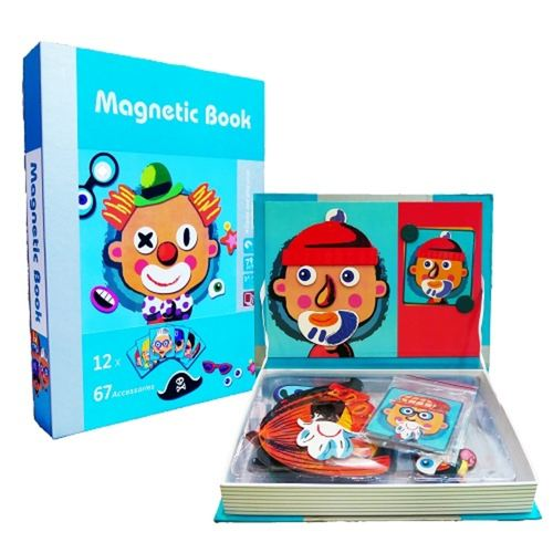 Magnetic Book - Face