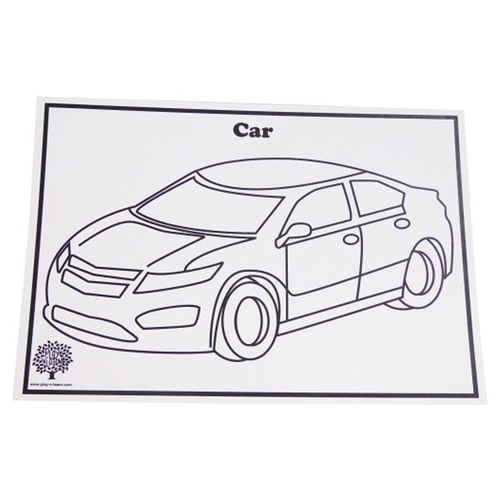 Craft Picture Card - Transportation