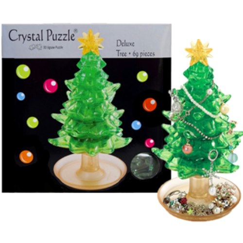 Tree Challenging  3D Crystal Puzzle