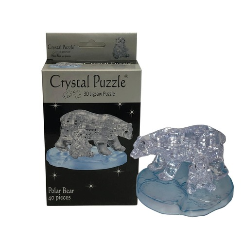 3D Crystal Puzzle Polar Bear Set