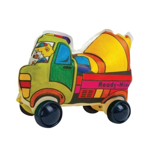 Play N Learn Colorloon  3D Vehicle DIY Kit - Ready-Mixed Truck 10 PCS